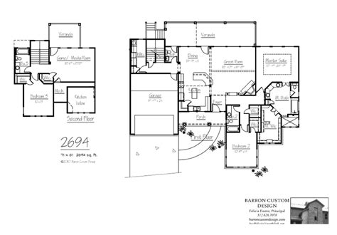 new home floor plans style custom house