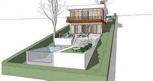 Steep Site House Plans A Home Built On A Slope Interior Design Inspiration