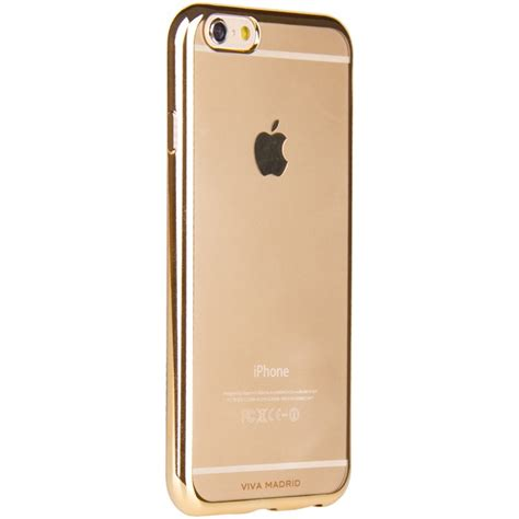 Viva Madrid Tinte Metalico Gold For Iphone 6 viva madrid metalico flex mobilskal till iphone 8 7 chagne gold themobilestore