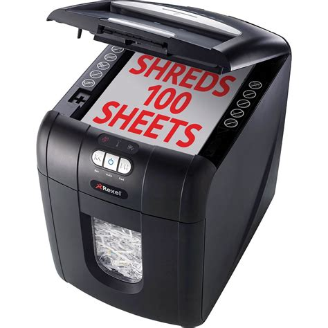 personal shredder zac2102559au rexel stack shred auto 100x personal