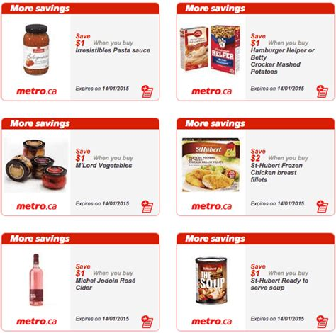 printable grocery coupons quebec metro quebec printable store coupons january 8 14