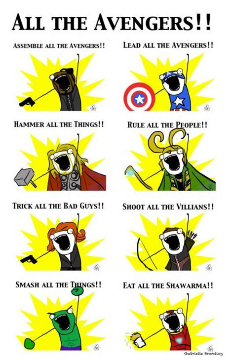 The Avengers Memes - top 30 funny marvel avengers memes quotes and humor