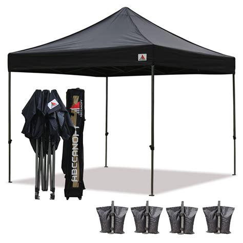 Black Canopy Black 3m X 3m Ez Pop Up Canopy Instant Shelter Outdor