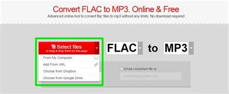 converter video ke mp3 online convert file flac ke mp3 secara online dan gratis