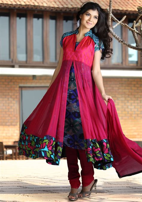 pakistani anarkali dresses latest collection 2013 trendy pakistani indian frocks collection 2013 for formal wedding