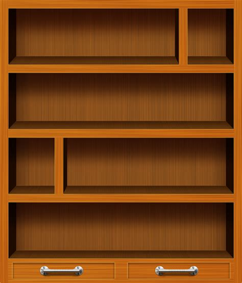 bookshelf pictures wooden bookshelf psd icons graphicsfuel