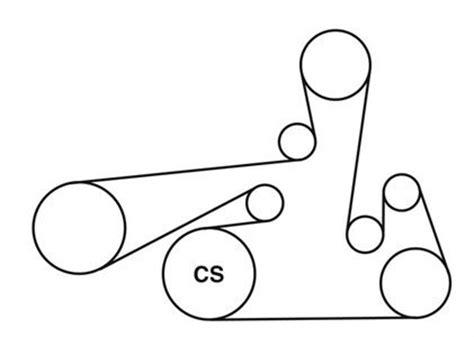 2011 Nissan Rogue Belt Diagram 2 5 Nissan Auto Parts