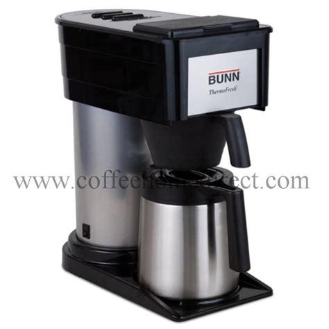 bunn coffee makers bunn btx b thermofresh 10 cup coffee maker