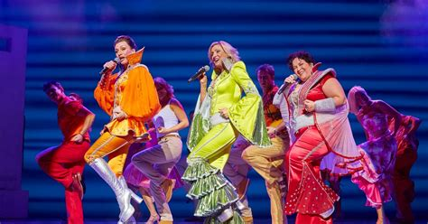 Mamamiya Musical Mobile review mamma at birmingham hippodrome is a