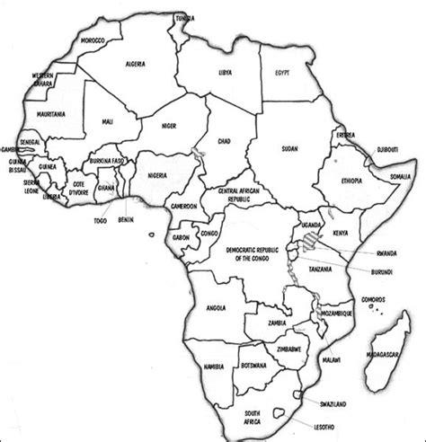 africa map practice hist 107 africa