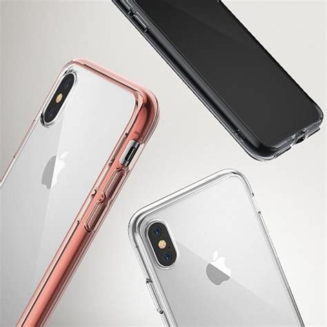 Ringke Fusion For Iphone X ringke fusion shock absorption skal till apple iphone x black themobilestore