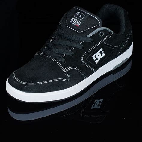 Jual Dc Nyjah Huston nyjah huston s shoes black white in stock at the boardr