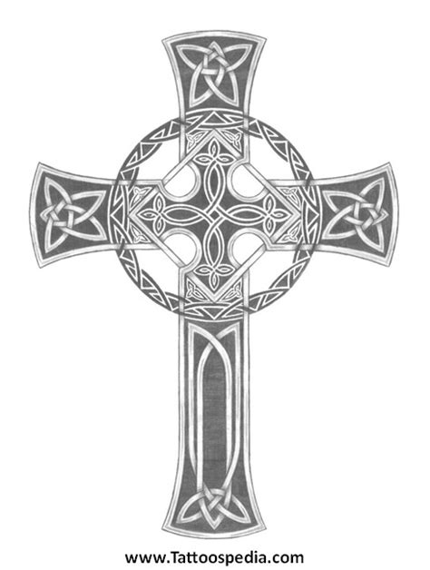 intricate cross tattoos celtic cross designs meanings