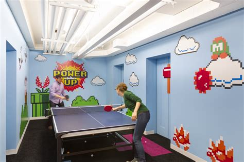 game design nyc inside shutterstock s new empire state building offices