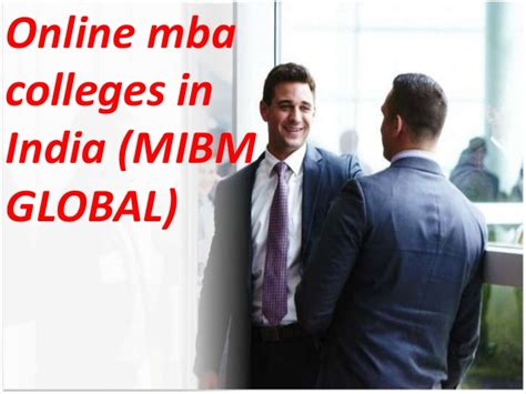 Global Mba Programmes In India by Make A Career In The Top Mba Programs In India