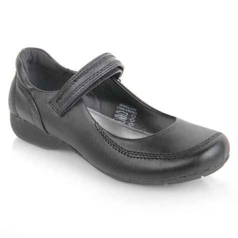 flat school shoes black flat school shoes hook loop