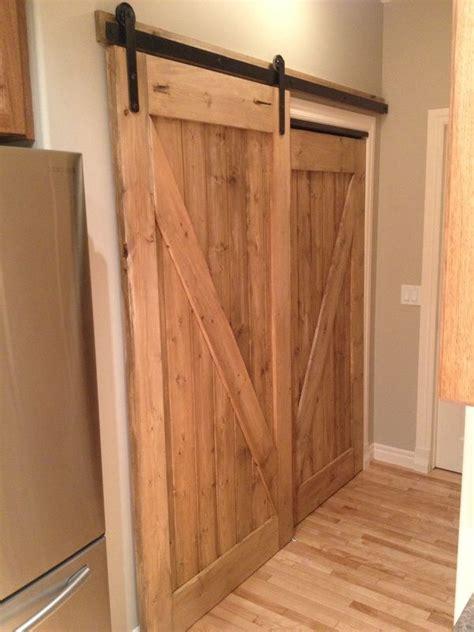 custom pantry sliding barn door awesome