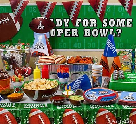 Football Decorations City by Tackle The Bowl With Ideas From City