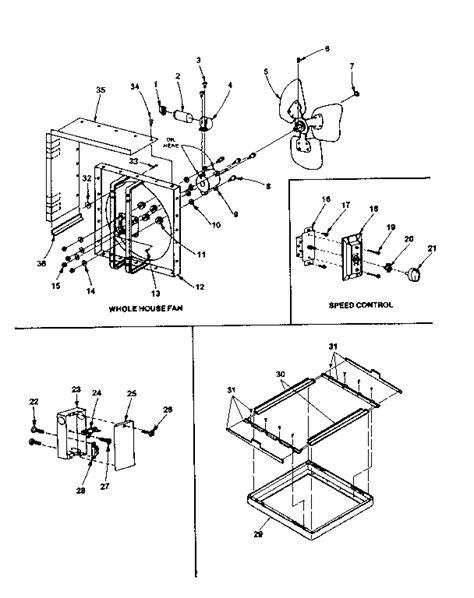 house fan wiring diagram wiring diagram