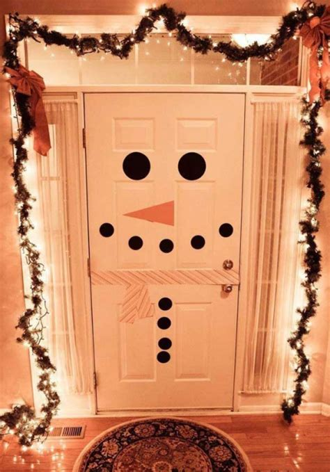 diy door decor diy christmas door decorations