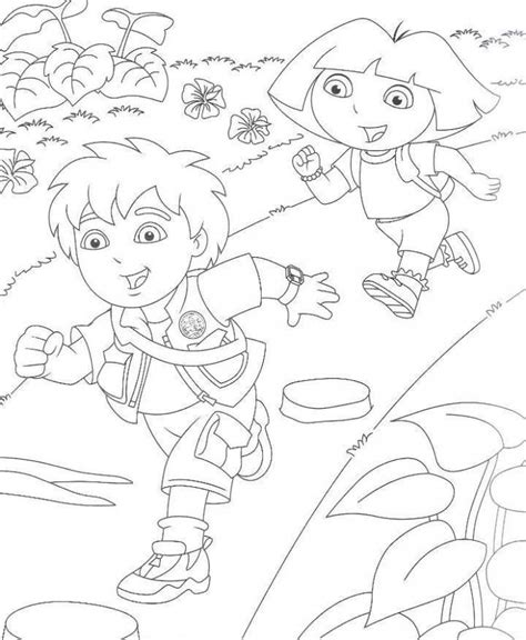 Diego Color Pages Coloring Home Diego Coloring Pages Free