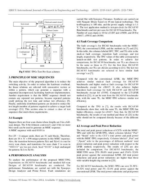 test pattern generation for bist low power test pattern generation for bist applications