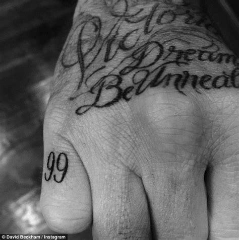 brooklyn beckham tattoo meaning brooklyn beckham at vmas 2015 as father david unveils neck