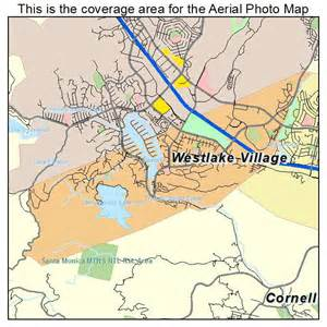 westlake california map aerial photography map of westlake ca california