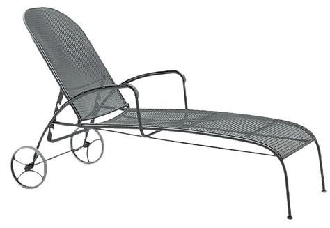 wrought iron chaise valencia wrought iron adjustable chaise lounge