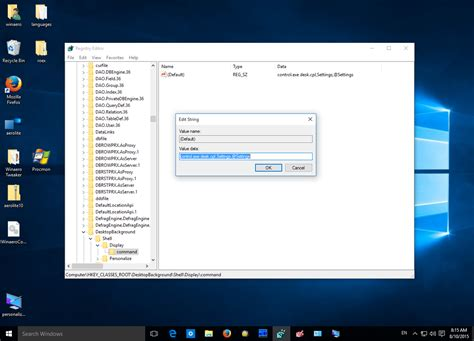 how to open old display settings in windows 10 two ways