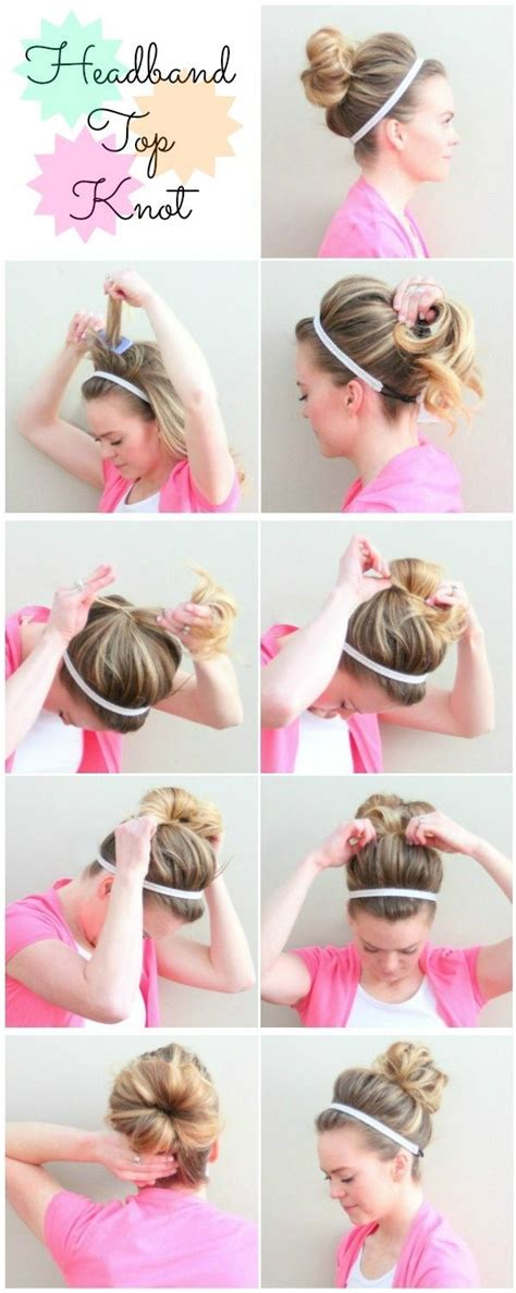 updo penny from big bang how to 10 tutos coiffure simples 224 r 233 aliser avec un headband