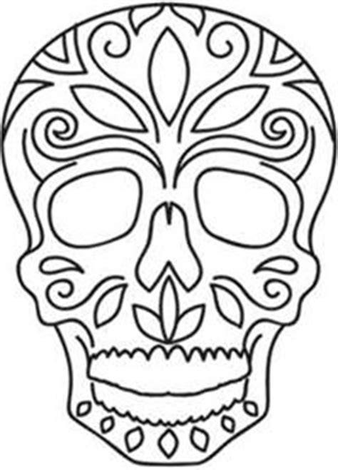day of dead skull template day of the dead skull print skull stencil