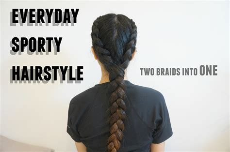 Hair Styles For Black Hair For Sports by Sporty Hairstyle Boxer Braid