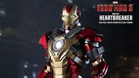 Kaos Ironman Disain Ironman 17 heartbreaker xvii iron 3 toys mms212