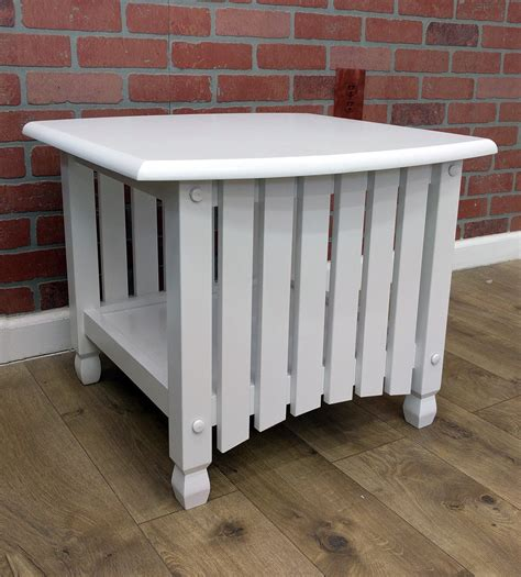 cottage end tables cottage end table white by j m furniture