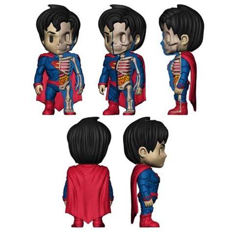 Mighty Jaxx Superman Monochrome superman xxray 4 inch vinyl figure mighty jaxx superman vinyl figures at entertainment earth