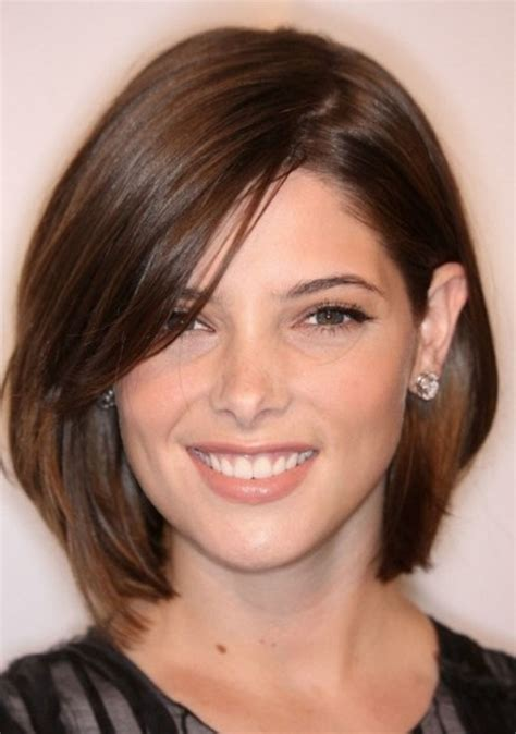hairstyles for thin hair thin face 50 most flattering hairstyles for round faces fave