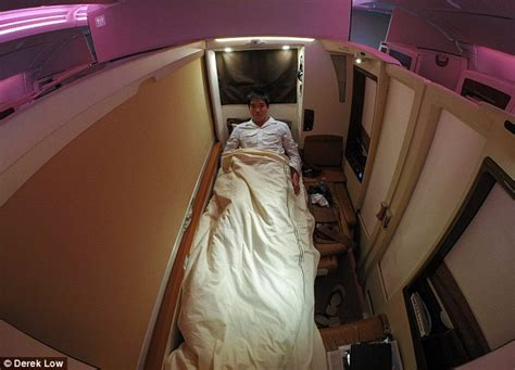 plane with beds derek low uses 30k worth of air miles to travel on most