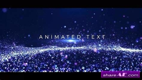 Particles Titles After Effects Template Motion Array 187 Free After Effects Templates After Particle Titles After Effects Templates