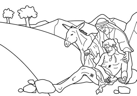 30 Best Images About The Good Samaritan On Pinterest Samaritan Coloring Page