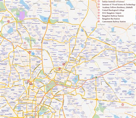 city map bangalore city map bangalore india mappery