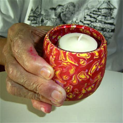 polymer clay art therapy   elderly