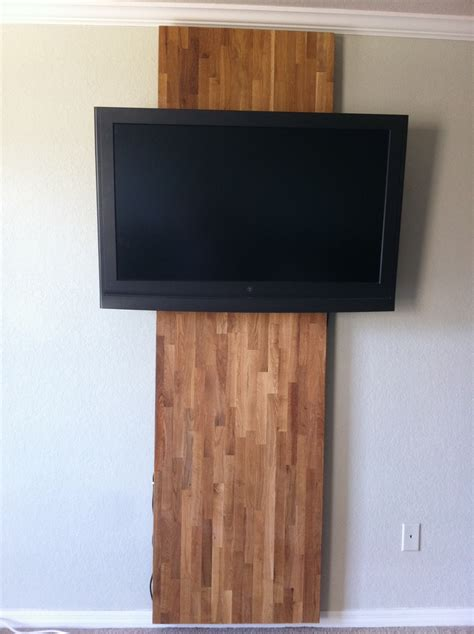 focal wall focal wall and tv mount hack home decor hacks projects