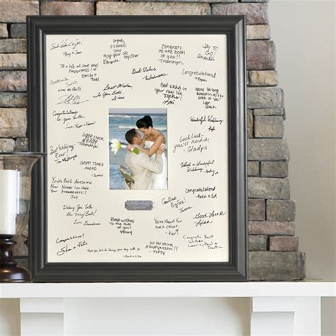Wedding Signature Frame Personalized Guest Book Ideas