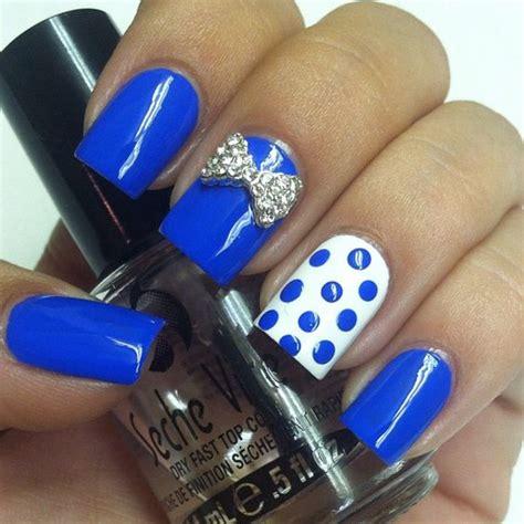 imagenes de uñas acrilicas azul rey unas color azul rey 13 curso de organizacion del hogar