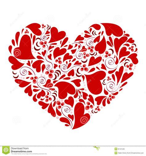 imagenes de corazones vendados corazones dentro del vector del coraz 243 n foto de archivo