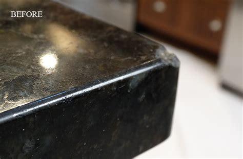 Repair Chip Granite Countertop by Marble Polishing Orlando Daytona Melbourne