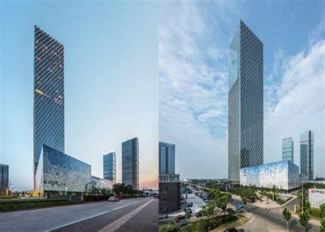 gallery of jiangxi nanchang greenland zifeng tower som 8 som completes elegant leed silver skyscraper in nanchang