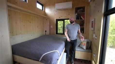 tiny house murphy bed saltbox tiny house by extraordinary structures murphy bed