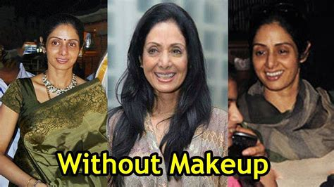 sridevi without makeup 10 pics of sridevi without makeup unbelievable youtube
